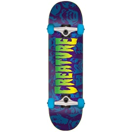 Creature Faces Mini Complete Skateboard - 7.5