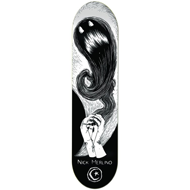Foundation Shadow Puppet Skateboard Deck - Merlino 8.125""