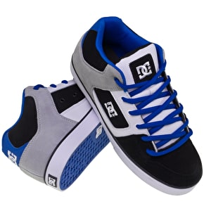 DC Radar Slim Skate Shoes - Black/Royal/White UK Size 7 (B-Stock)