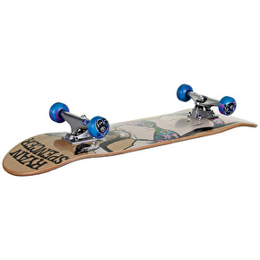 Foundation Doe Spencer Custom Skateboard 8.125