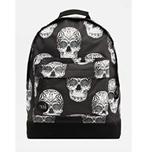 Mi-Pac Skulls Backpack - Black