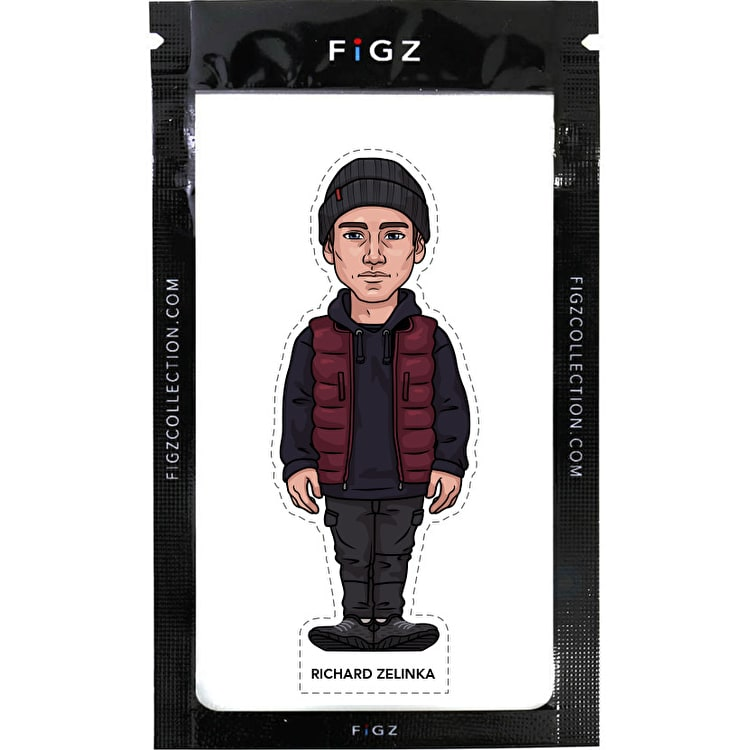 FIGZ Collection Richard Zelinka Sticker