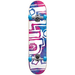 B-Stock Blind Water Colour Complete Skateboard - Magenta/Cyan 7.875'' (Cosmetic Damage)