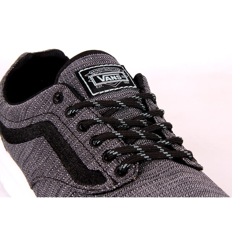 Vans Iso 1.5 Skate Shoes - (Vans Trek) Black/Wasabi