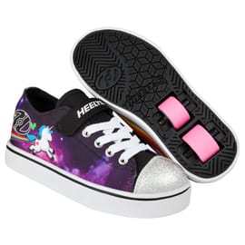Heelys Snazzy Lo Top - Black/Space/Unicorn