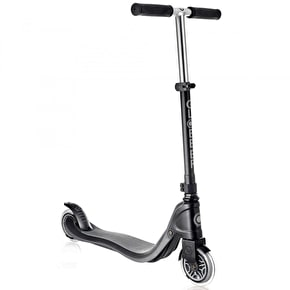 Globber Flow 125 Complete Scooter - Black/Grey