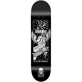 Death Keep On Skateboard Deck - Black