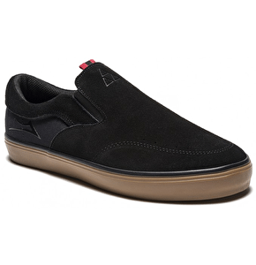 Lakai x Fourstar Owen Shoes - Black/Gum