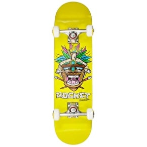 B-Stock Rocket Mini Tiki Complete Skateboard - Earth (hairline cracks)
