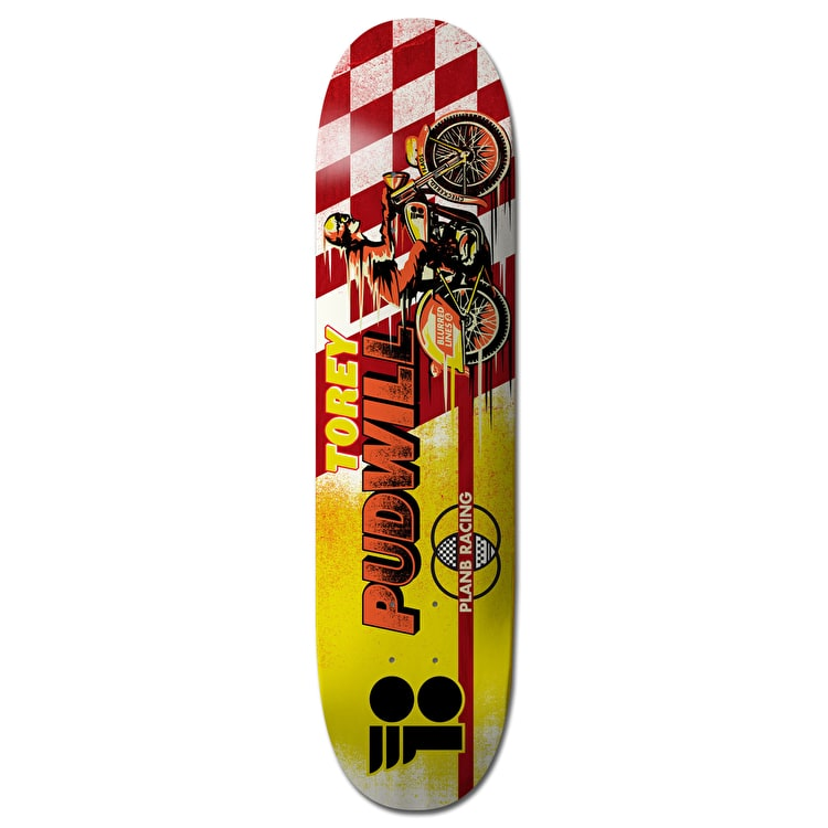 Plan B Pudwill Victory Pro Spec Skateboard Deck - 7.75""