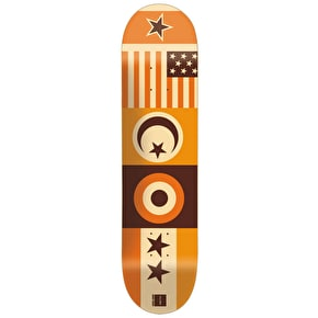 Chocolate Skateboard Deck - Flags Tershy 8.375