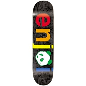 Enjoi Skateboard Deck - Spectrum No Brainer Black 8.25