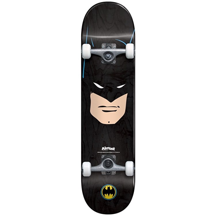 Almost Batman Face Complete Skateboard - 7.75""