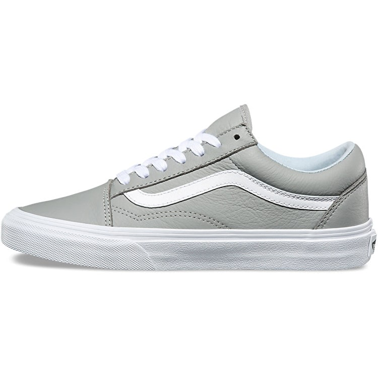 Vans Old Skool Skate Shoes - Leather/Oxford/Drizzle