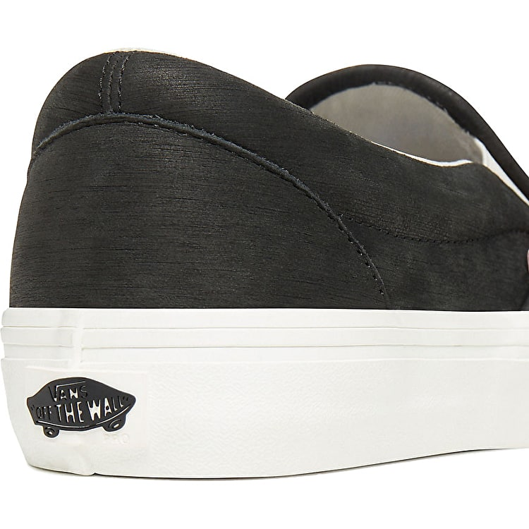 Vans Slip-On Pro Skate Shoes - (Pfanner) Black/Marshmellow