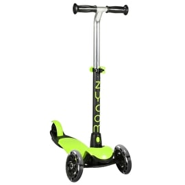 Zycom Zing Complete Scooter w/Light Up Wheels - Lime/Black