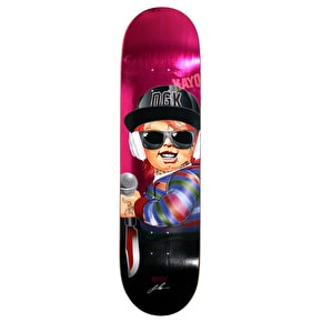 DGK G Killers Skateboard Deck - Boo 8.25
