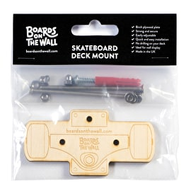 Boards On The Wall Skateboard Deck Mount