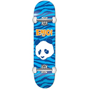 Enjoi Zebra Punk First Push Complete Skateboard - Blue 8