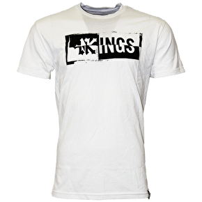Zoo York Drop Kings Paste Up Tee - White