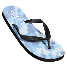 Globe Acid Flip-Flops - Powder Blue/White