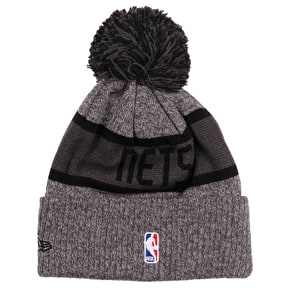 New Era NBA Marl Knit Beanie - Brooklyn Nets
