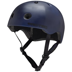 B-Stock Protec Street Lite Helmet - Navy Blue - Small 53-54cm (Box Damage)