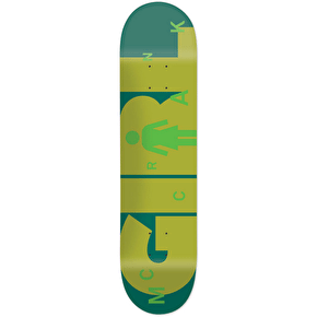Girl Advertype Skateboard Deck - McCrank 8.375