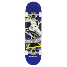 Birdhouse Stage 1 Oversized Skull Mini Complete Skateboard - 7.38