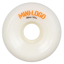 Mini Logo A-Cut 101a Skateboard Wheels - White