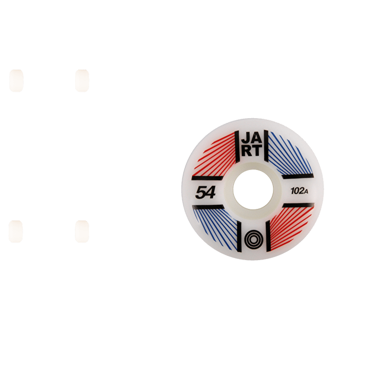 Jart Supernova 102a Skateboard Wheels - 54mm