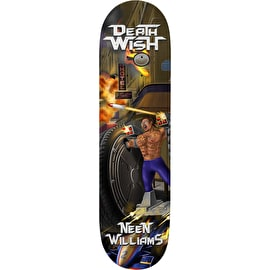 Deathwish Metal Mayhem Williams Skateboard Deck 8