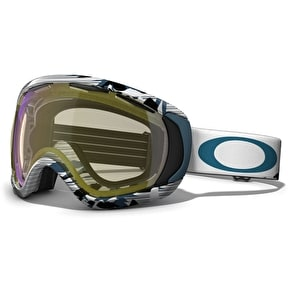 Oakley Canopy Snow Goggles High Country Blue - Hi Yellow Iridium