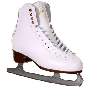 B-Stock Graf 500 Ice Skates - White UK 7 (Marked/ Box Damage)