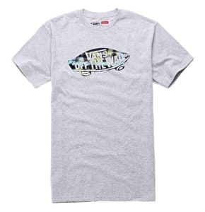 Vans Off The Wall Knock Out T-Shirt - Grey