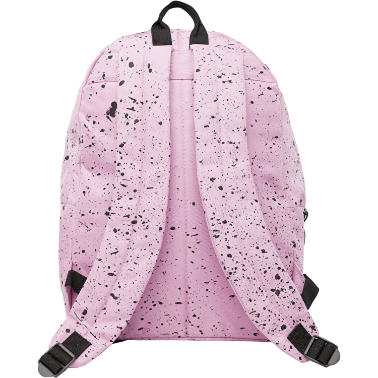 Hype Speckle Backpack - Baby Pink/Black