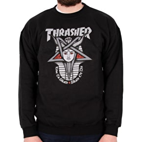 Thrasher Goddess Crewneck - Black