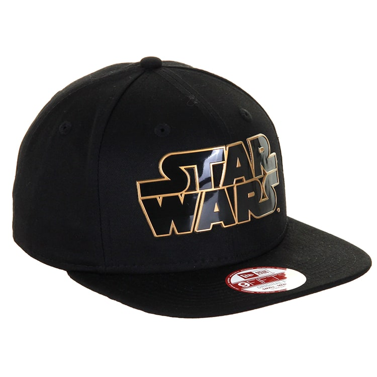 New Era Star Wars Word 9Fifty Cap - Black/Gold