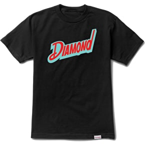 Diamond Downtown T-Shirt - Black