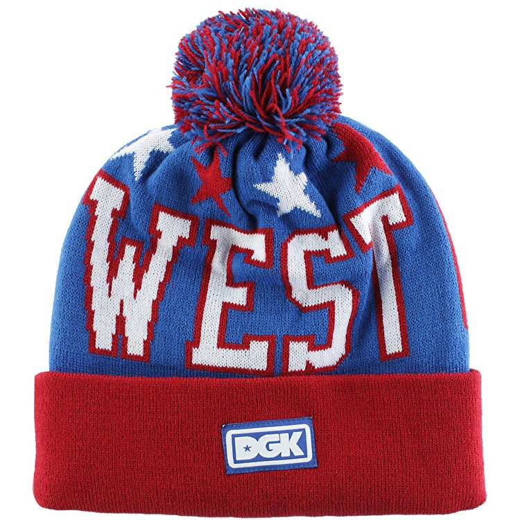 DGK West Coast Beanie - Royal Blue