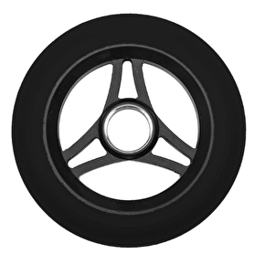 Aztek Trilogy 110mm Scooter Wheel - Black/Black