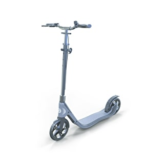Globber One NL 205 Deluxe Complete Scooter - Titanium/Charcoal Grey