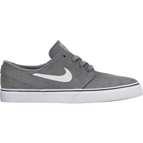 Nike SB Zoom Stefan Janoski Skate Shoes - Cool Grey/White
