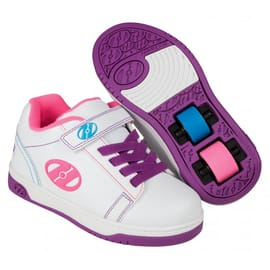 Heelys X2 Dual Up - White/Purple/Neon Multi