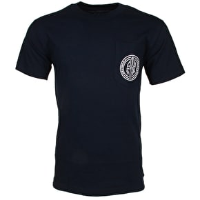 Fourstar Button Pocket T-Shirt - Navy