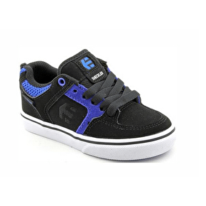Etnies Sheckler 6 Kids' Shoes - Black/Black/Blue