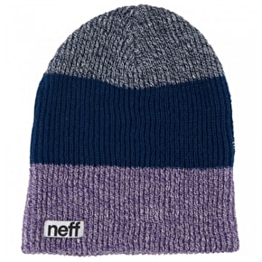 Neff Trio Beanie - Purple/Navy/Blue