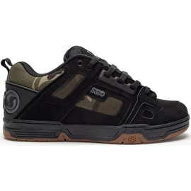 DVS Comanche Skate Shoes - Black/Camo/Nubuck