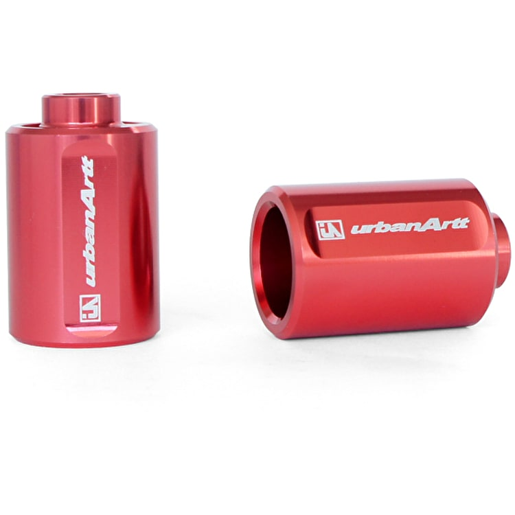 UrbanArtt Pro Scooter Pegs - Red