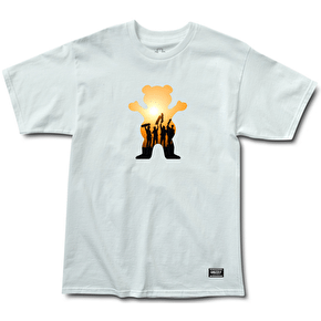 Grizzly Griptape x We are Blood T-Shirt - White